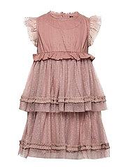 Darya Dress, K - MUTED LILAC