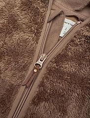 Mini A Ture - Adel Romper, B - fleecetøj - taupe grey - 4