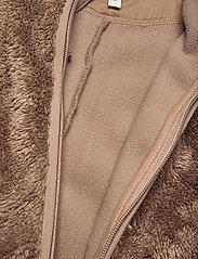 Mini A Ture - Adel Romper, B - fleecetøj - taupe grey - 6