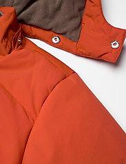 Mini A Ture - Weli Jacket, K - dunjakker & forede jakker - rooibos tea orange - 5