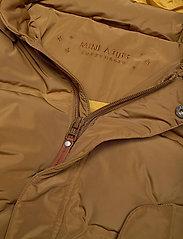 Mini A Ture - Woody Jacket, M - dunjakker & forede jakker - rubber brown - 3