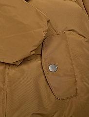 Mini A Ture - Woody Jacket, M - dunjakker & forede jakker - rubber brown - 4