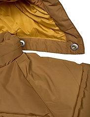 Mini A Ture - Woody Jacket, M - dunjakker & forede jakker - rubber brown - 5