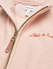 Mini A Ture - Lola Jacket, MK - fleecejakke - rose dust - 2