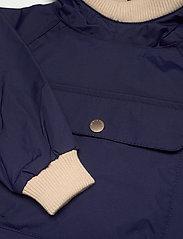 Mini A Ture - Baby Vito Fleece Anorak, M - shell jackets - maritime blue - 4