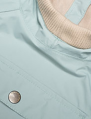 Mini A Ture - Baby Vito Fleece Anorak, M - shell jackets - slate blue - 2