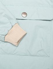 Mini A Ture - Baby Vito Fleece Anorak, M - shell jackets - slate blue - 3