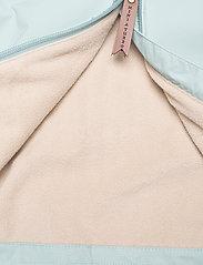 Mini A Ture - Baby Vito Fleece Anorak, M - shell jackets - slate blue - 4