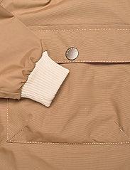 Mini A Ture - Baby Vito Fleece Anorak, M - shell jackets - wood - 3