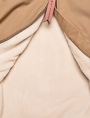 Mini A Ture - Baby Vito Fleece Anorak, M - shell jackets - wood - 4