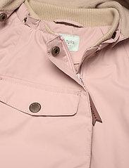 Mini A Ture - Wai Fleece Jacket, M - shell jassen - cloudy rose - 4