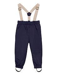 Wilans Suspenders Pants, K - MARITIME BLUE