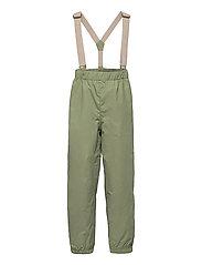 Wilans Suspenders Pants, K - OIL GREEN