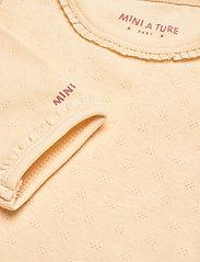 Mini A Ture - Akeleje Body GOTS, B - long-sleeved - apricot gelato - 3