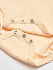 Mini A Ture - Akeleje Body GOTS, B - long-sleeved - apricot gelato - 4