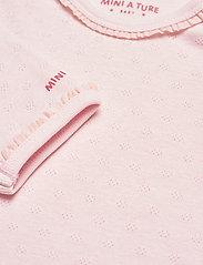 Mini A Ture - Akeleje Body GOTS, B - long-sleeved - mauve chalk - 3