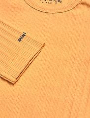 Mini A Ture - Yomi Body GOTS, B - long-sleeved - honey yellow - 3