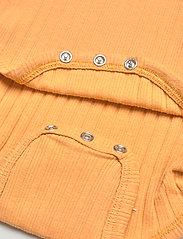 Mini A Ture - Yomi Body GOTS, B - long-sleeved - honey yellow - 4