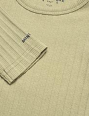 Mini A Ture - Yomi Body GOTS, B - long-sleeved - oil green - 3