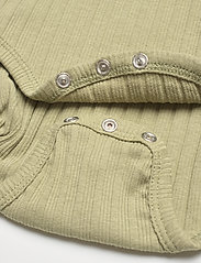 Mini A Ture - Yomi Body GOTS, B - long-sleeved - oil green - 4