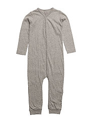 Mattie Romper, B - LIGHT GREY MELANGE