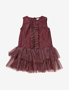 Melischa, MK Dress - FIG RED