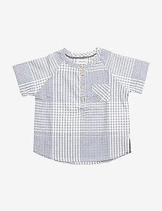 Alton, BK Shirt SS - short-sleeved - stone wash
