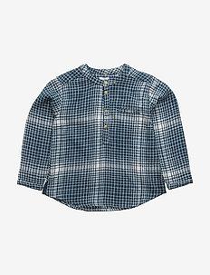 Lai, BM Shirt LS - shirts - blue wing teal