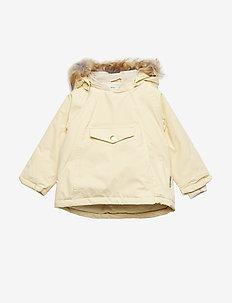 Wang Faux Fur Jacket, M - APRICOT GELATO