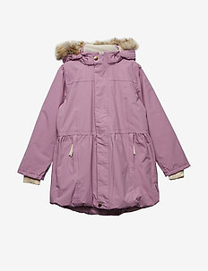Viola Faux Fur Jacket, K - ORCHID HAZE PURPLE