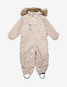 Wisti Faux Fur Snowsuit, M - ROSE SMOKE