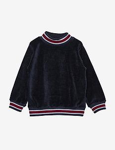 Jannic Blouse, BK - sweatshirts - sky captain blue