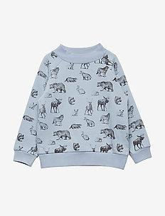 Jannic Blouse, MK - sweatshirts - cashmere blue