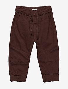 Cole Pants, M - pantalons - deep mahogany