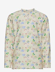 Gani T-shirt, K - YELLOW ANISE FLOWER