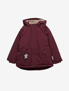 Wally Jacket, M - parkas - winetasting plum