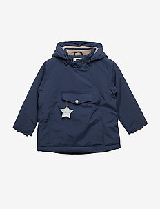 Wang Jacket, M - PEACOAT BLUE
