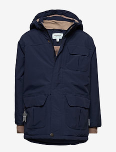 Walder Jacket, K - parkas - peacoat blue