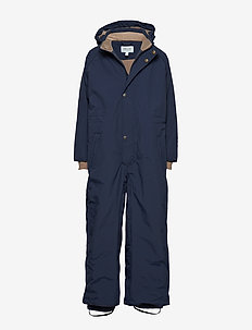 Wanni Snowsuit, K - vinterdress - peacoat blue