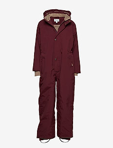 Wanni Snowsuit, K - vinterdress - winetasting plum