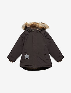 Wally Faux Fur Jacket, M - LICORISE