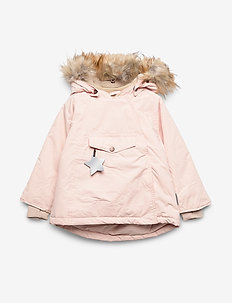Wang Faux Fur Jacket, M - puffer & padded - keen rose