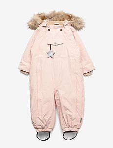 Wisti Faux Fur Snowsuit, M - vinterdress - keen rose