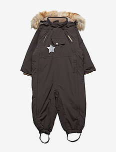 Wisti Faux Fur Snowsuit, M - vinterdress - licorise