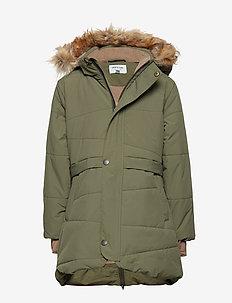 Witta Faux Fur Jacket, K - parkas - beetle