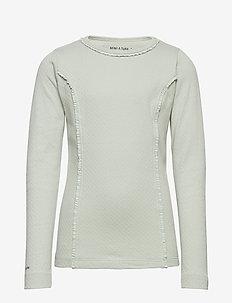 Aje T-shirt, K - langærmede t-shirts - puritan grey