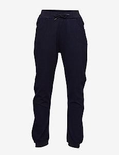 Isak Pants, K - sweatpants - carbon