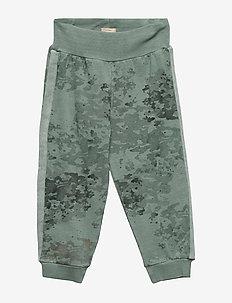 Kjartan Pants, B - trousers - chinois green