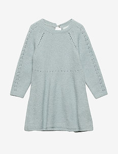 Roberta Dress, M - PURITAN GREY