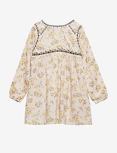 Atalie Dress, B - kjoler - silver peony